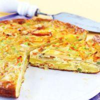 Gemüse-Apfel-Tortilla